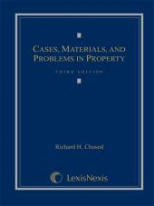 Cases, Materials and Problems in Property, Third Edition, 2010 cover