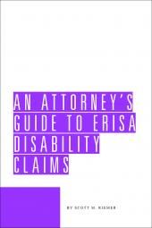 An Attorney's Guide to ERISA Disability Claims cover