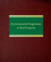Environmental Regulation of Real Property cover