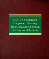 Start-Up & Emerging Companies: Planning, Financing & Operating the Successful Business cover