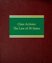 Class Actions: The Law of 50 States cover