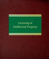 Licensing of Intellectual Property cover