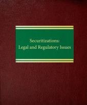 Securitizations: Legal and Regulatory Issues cover