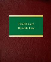 Health Care Benefits Law cover