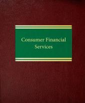 Consumer Financial Services cover