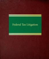 Federal Tax Litigation cover