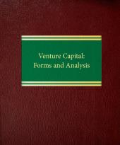 Venture Capital: Forms and Analysis cover