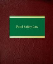 Food Safety Law cover