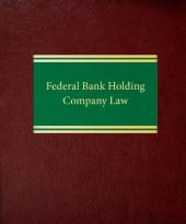 Federal Bank Holding Company Law cover