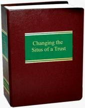 Changing the Situs of a Trust cover
