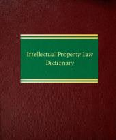 Intellectual Property Law Dictionary cover
