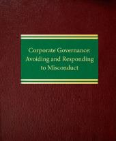 Corporate Governance: Avoiding and Responding to Misconduct cover