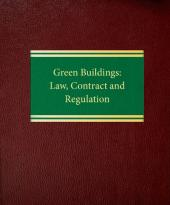 Green Buildings: Law, Contract and Regulation cover