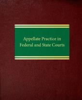 Appellate Practice in Federal and State Courts cover