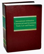 International Arbitration: Commercial and Investment Treaty Law and Practice cover