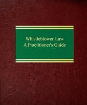 Whistleblower Law: A Practitioner's Guide cover
