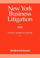 New York Business Litigation cover