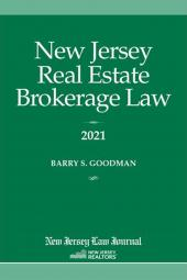 New Jersey Real Estate Brokerage Law cover