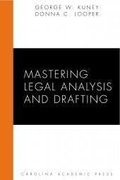 Mastering Legal Analysis and Drafting cover