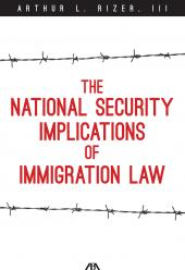 The National Security Implications of Immigration Law cover