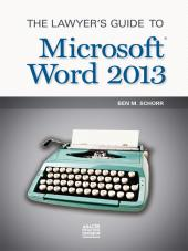 The Lawyer's Guide to Microsoft Word cover
