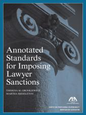 Annotated Standards for Imposing Lawyer Sanctions cover