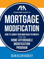 ABA Consumer Guide to Mortgage Modification cover