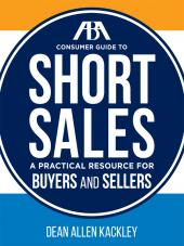 ABA Consumer Guide to Short Sales cover