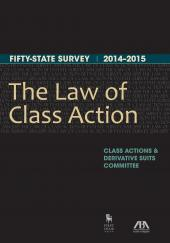Law of Class Action: Fifty-State Survey cover