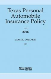 Texas Personal Automobile Insurance Policy cover