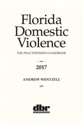 Florida Domestic Violence: The Practitioner's Handbook  cover