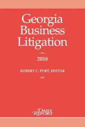 Georgia Business Litigation  cover