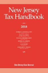 New Jersey Tax Handbook  cover