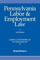 Pennsylvania Labor & Employment Law cover