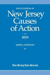 Encyclopedia of New Jersey Causes of Action cover