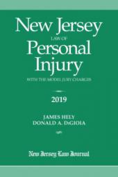 New Jersey Law of Personal Injury with the Model Jury Charges cover