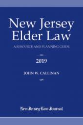 New Jersey Elder Law: A Resource and Planning Guide  cover