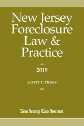 New Jersey Foreclosure Law & Practice  cover