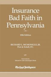 Insurance Bad Faith in Pennsylvania cover