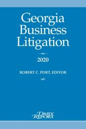 Georgia Business Litigation cover