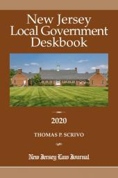 New Jersey Local Government Deskbook cover