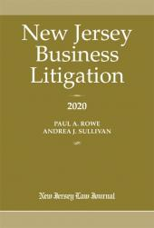 New Jersey Business Litigation cover
