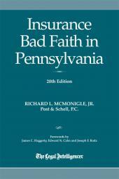 Insurance Bad Faith in Pennsylvania cover