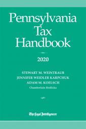 Pennsylvania Tax Handbook cover