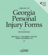 Library of Georgia Personal Injury Law Forms cover