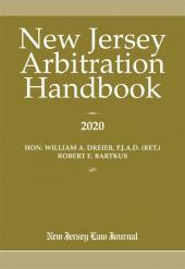 New Jersey Arbitration Handbook cover