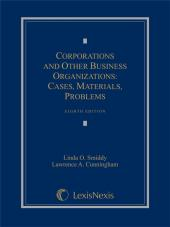 Corporations and Other Business Organizations: Cases, Materials, Problems cover