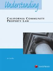 Understanding California Community Property Law (2015) cover