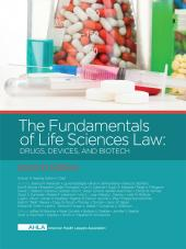 AHLA The Fundamentals of Life Sciences Law: Drugs, Devices, and Biotech, Second Edition (Non-Members) cover
