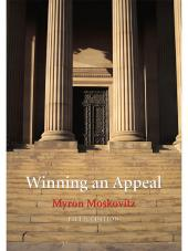 Winning an Appeal, Fifth Edition cover
